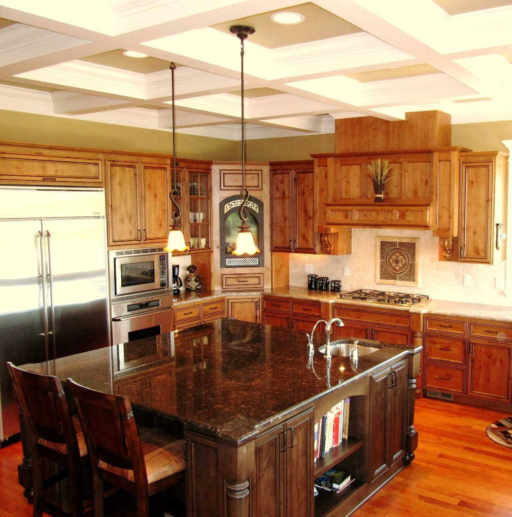Tan Brown Granite Countertops Kitchen Kitchens A Immaculate Transformations Granite